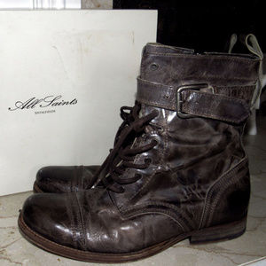 ALL SAINTS MEN'S DAMASI BOOTS SZ 41/8 or WOMENS 10